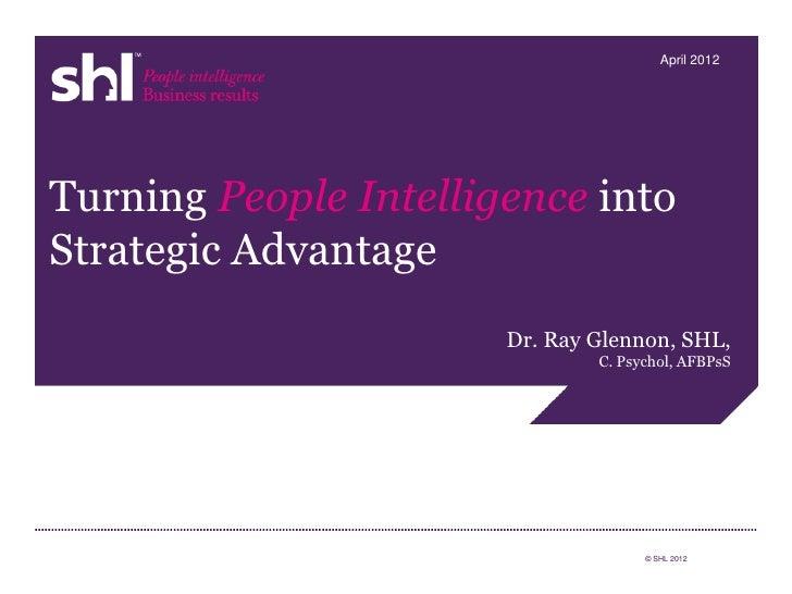 Turning Talent Intelligence into Strategic Advantage
