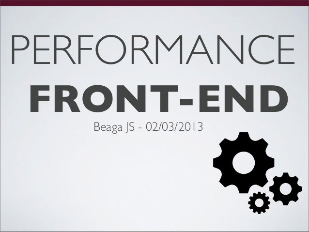 Performance Front-end