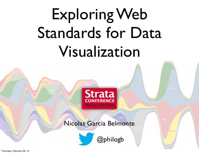 Exploring Web standards for data visualization