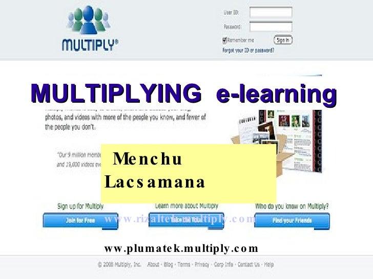 Multiplying eLearning
