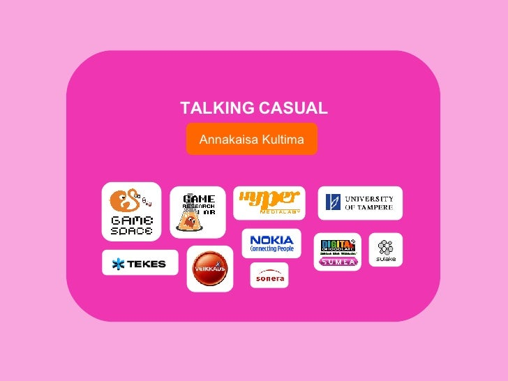 Talking Casual