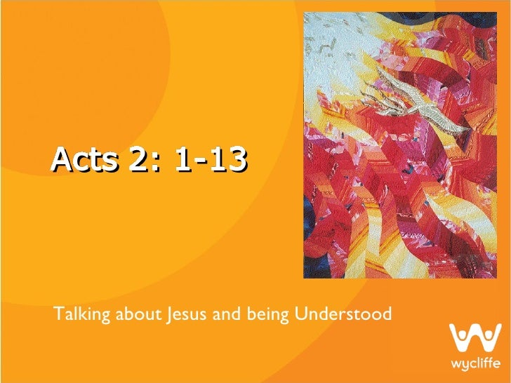 Talking About Jesus And Being Understood