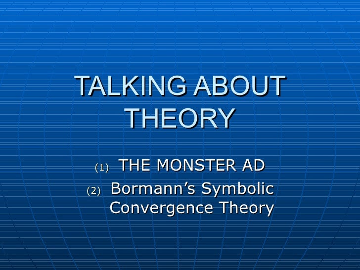 Talking About Theory