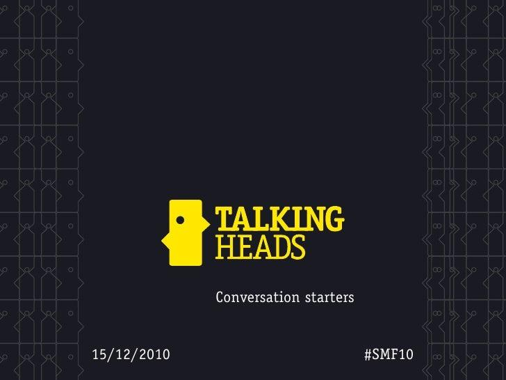 #SMF10 - Social Media Forum 15/12/2010