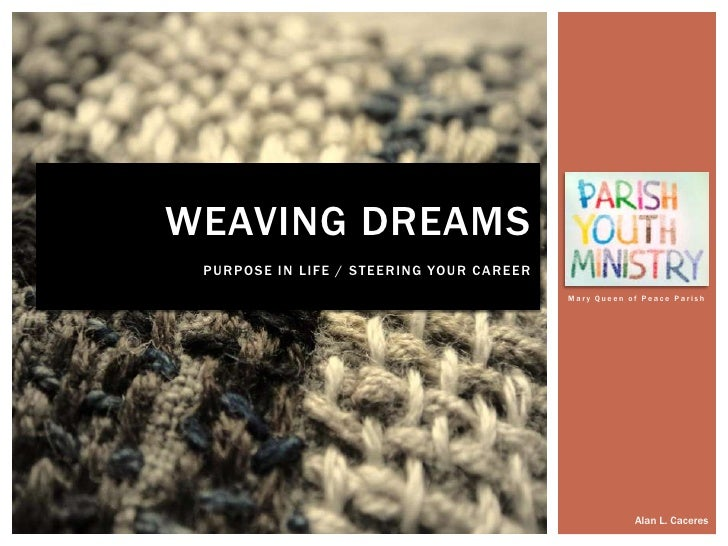 Weaving Dreams for Parish Youth Ministry