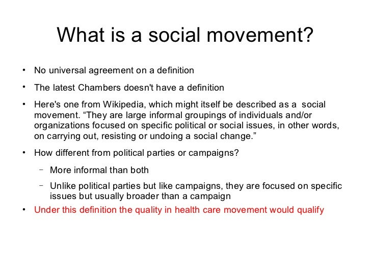 social movements 3 essay Advertisements: social movements: meaning, causes, types, revolution and role the meaning of social movements: in the society a large number of changes have been.