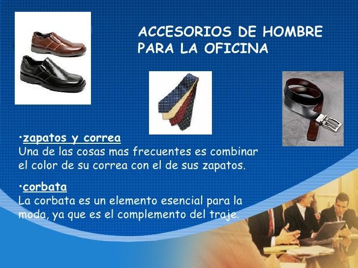 Taller el buen vestir revisado for Accesorios de oficina