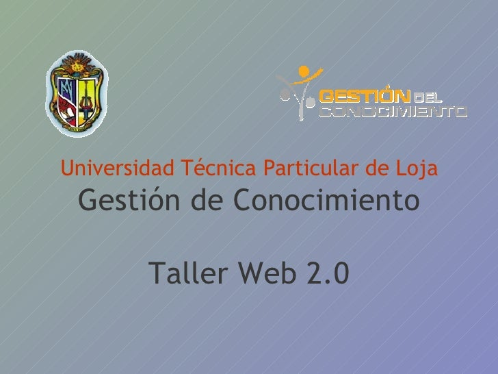 Taller Web2.0 Docentes
