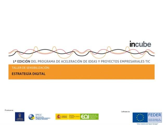 Promueve: Cofinancia: Estrategia digital para Emprendedores Ponente: Valentin Pereiro Diaz Fundador de Planes digitales