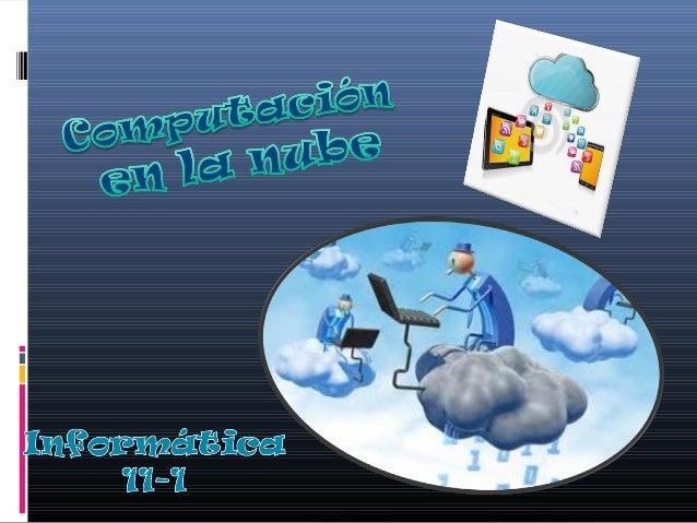 Qué es computación en la nube y para qué sirve?  Cloud computing, es el almacenamiento y procesamiento de datos en servid...
