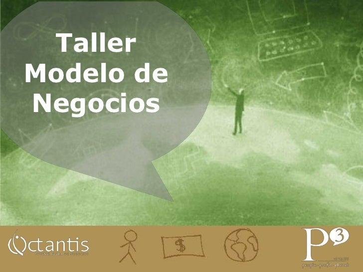 Taller Modelo de Negocios - Engine Up El Salvador
