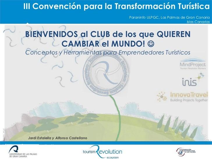 Título Píldora o Taller        III Convención para la Transformación Turística                                            ...
