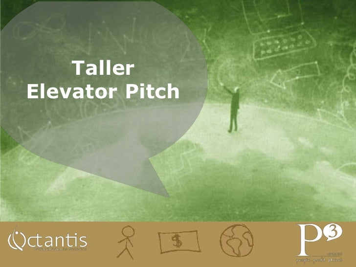 Taller Elevator Pitch - Engine Up El Salvador