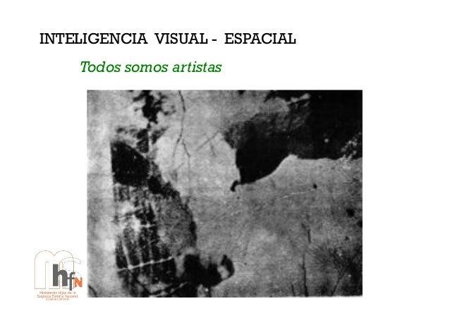 INTELIGENCIA VISUAL - ESPACIAL Todos somos artistas