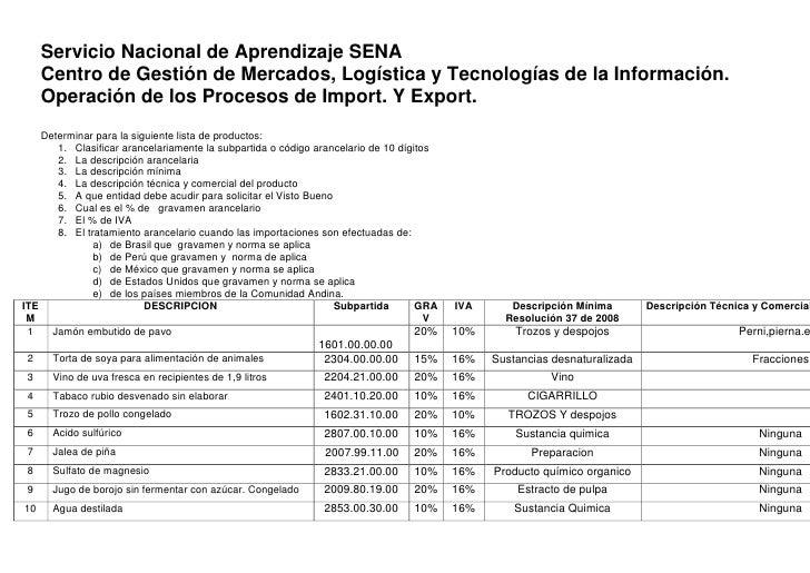 Servicio Nacional de Aprendizaje SENA<br />Centro de Gestión de Mercados, Logística y Tecnologías de la Información.    Op...
