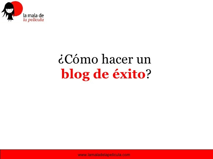 Taller De Blog