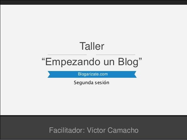 Taller de blogs (2da.parte)