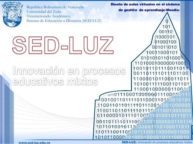 Diseño de aulas virtuales en el sistema    de gestión de aprendizaje-Moodle-