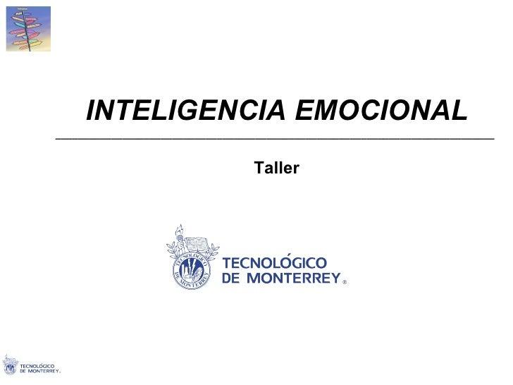 Taller De Inteligencia Emocional 6.0