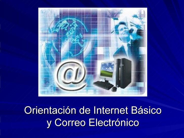 Introducción a Internet y al  correo-e