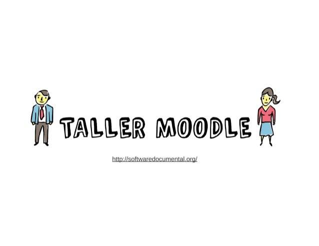 Presentación utilizada para el Taller de Moodle de la Facultad de Comunicación y Documentación de la Universidad de Granada