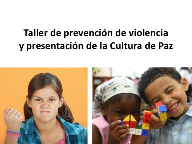 Taller de prevención de violencia 2