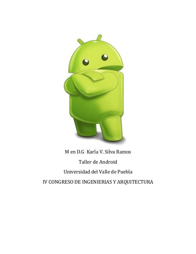 Taller de prog. en android