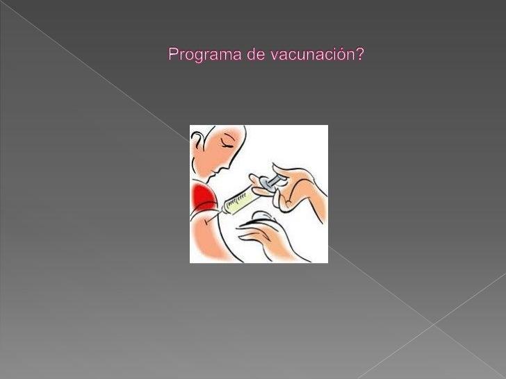    Son una preparación de antígenos que se    inyectan en el cuerpo y generan una    respuesta de ataque por medio de los...