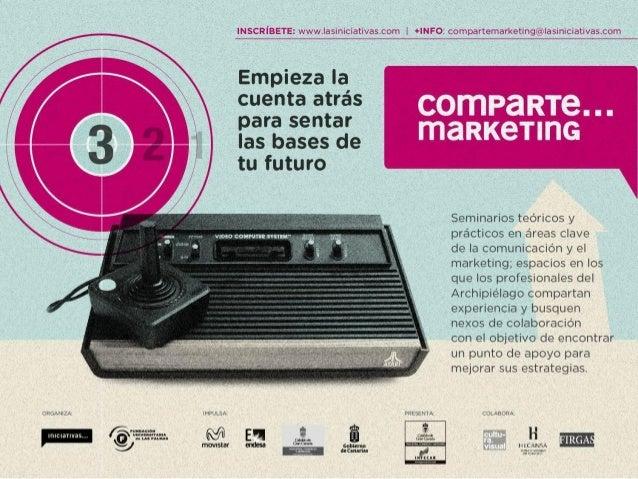 """Comparte Marketing """"Publicidad online"""" - José Frechín"""
