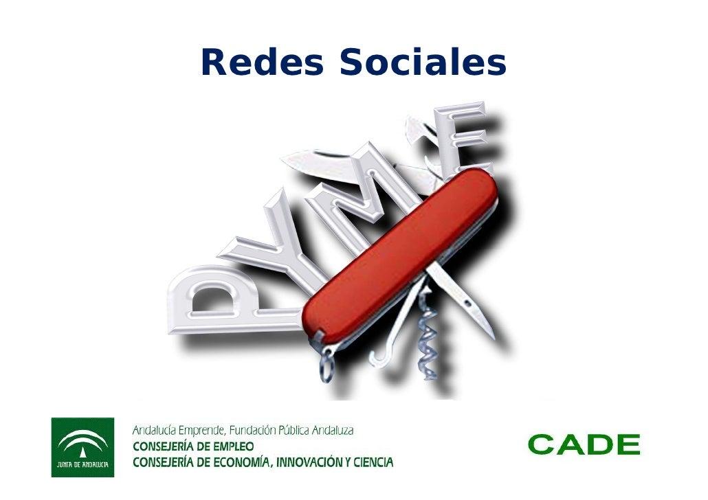 Taller de redes sociales y marketing online CADE Osuna