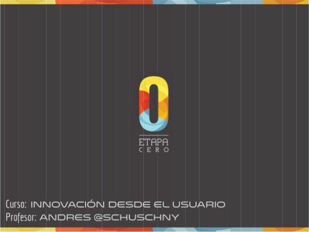 Curso - Taller de Design Thinking realizado en Etapa 0 - ASECH (Asociación de Emprendedores de Chile)