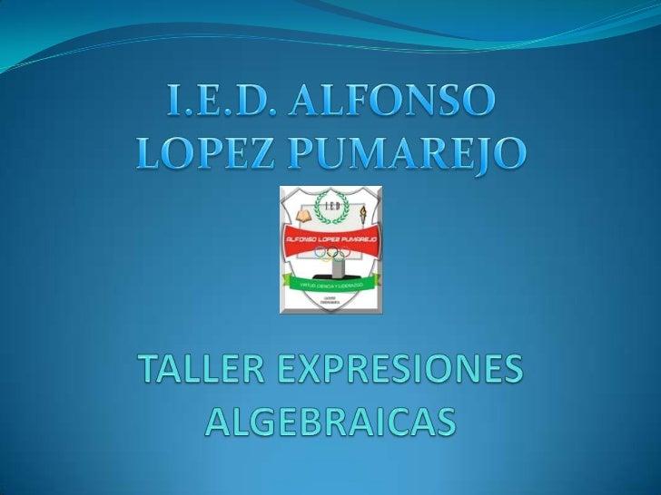 Ejercicio 1Expresa en lenguaje algebraico cada uno de los siguientesenunciados:a. El 30% de un número.b. El área de un rec...