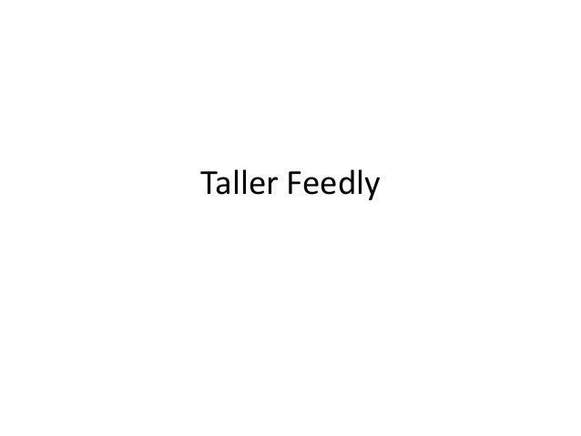 Taller Feedly