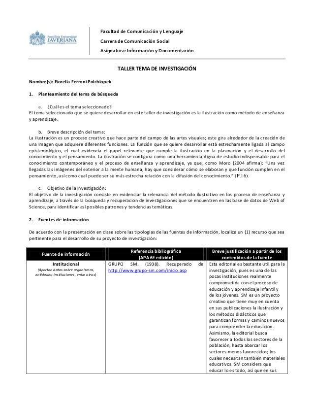 Facultad de Comunicación y Lenguaje                                              Carrera de Comunicación Social           ...