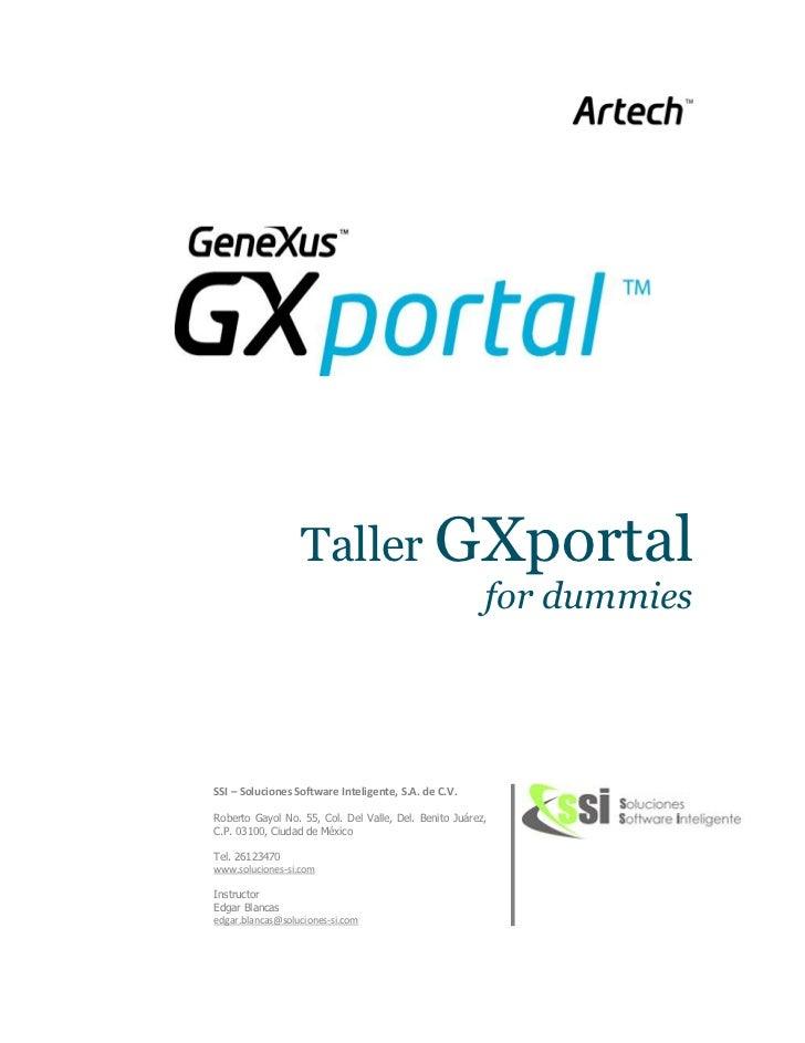 Taller g xportal 5.0 v1.2