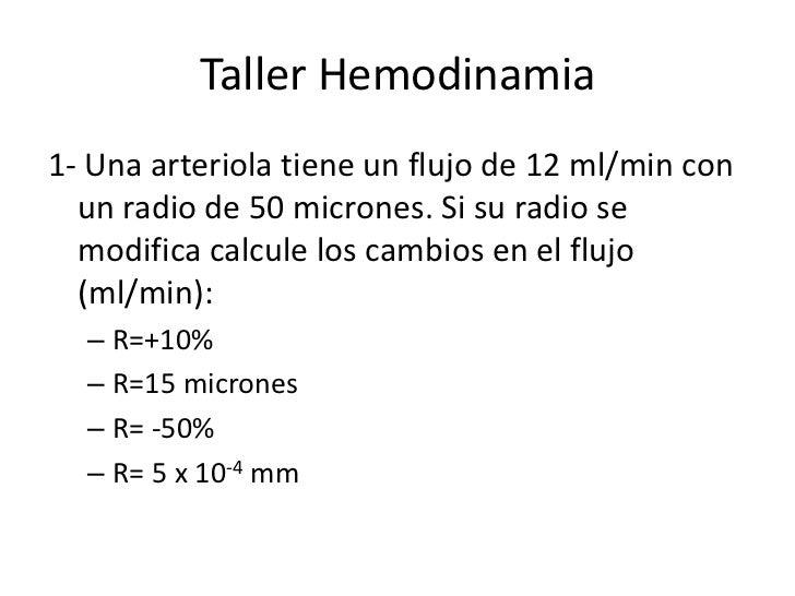 Taller hemodinamia ayudantía umayor