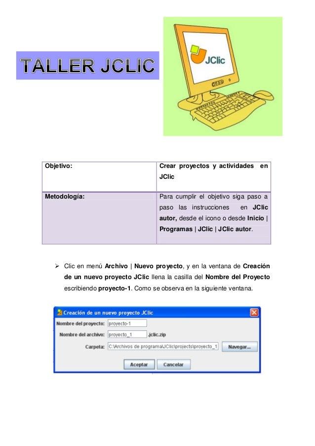 Taller jclic