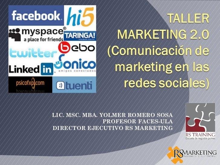 Taller marketing 2.0