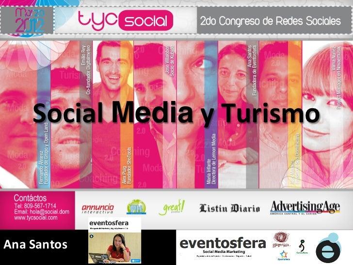 Taller marketing turístico 2.0 tycSocial por Ana Santos
