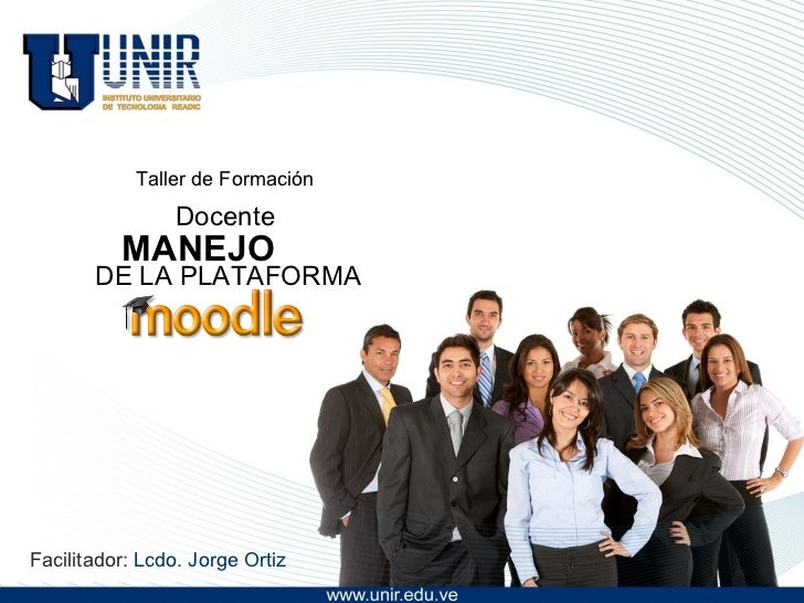 Taller moodle docentes
