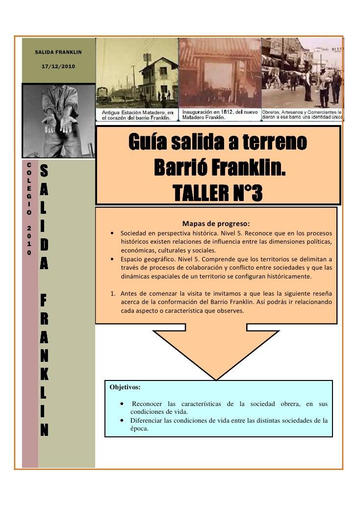 SALIDA FRANKLIN      17/12/2010                             Guía                             Guía salida a terrenoCOL     ...