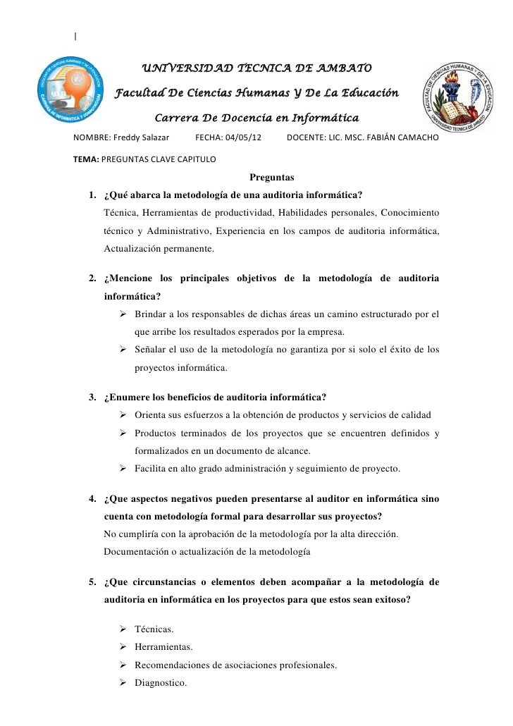 |               UNIVERSIDAD TECNICA DE AMBATO         Facultad De Ciencias Humanas Y De La Educación                   Car...