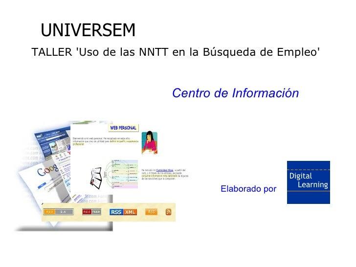 Herramientas de Internet para búsqueda de empleo