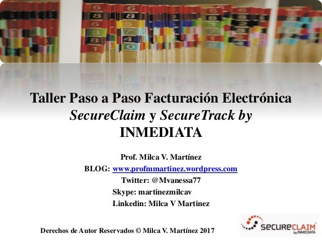 Taller Paso a Paso Facturacion Electronica SecureClaim