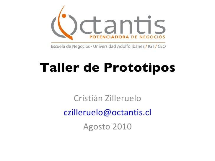 Plan de Salto Competitivo: Taller prototipos panama