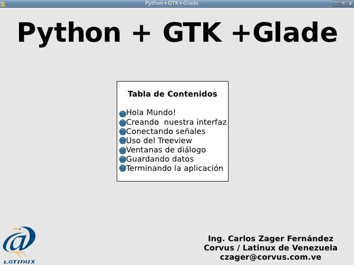 Taller Python Gtk Glade