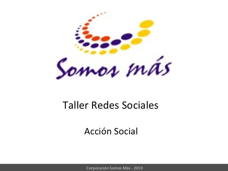 Taller redes Acción Social