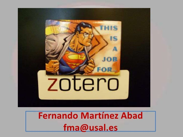 Fernando Martínez Abad     fma@usal.es