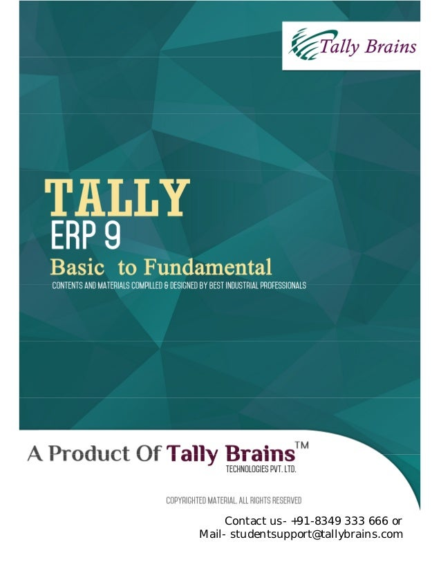 Free tally learning books in pdf format