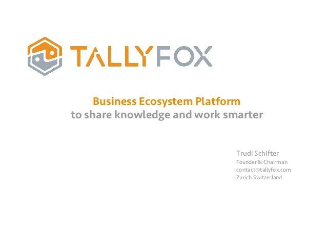 Tally fox business presentation